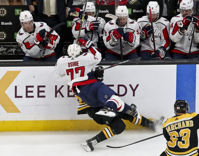 The beating the Bruins took in their win against the Caps is a huge concern