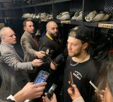 Pastrnak likens game with Caps to a playoff game