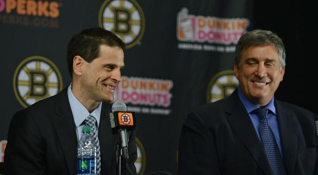 Cup contenders in name only, the Bruins brass simply whistle past the graveyard again