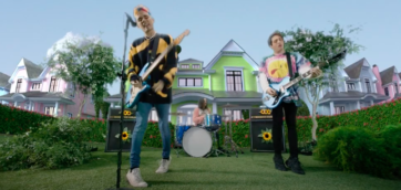 Waterparks Releases Eccentric Music Video From Inside a Flower Pot